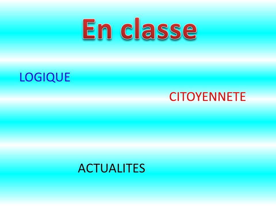 LOGIQUE ACTUALITES CITOYENNETE