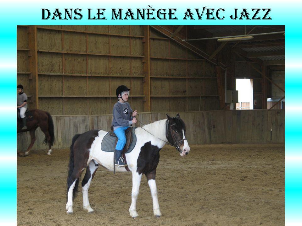 dans le manège avec Jazz