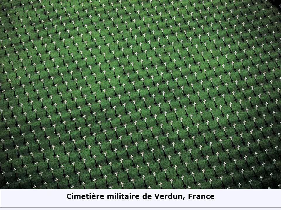 Cimetière militaire de Verdun, France