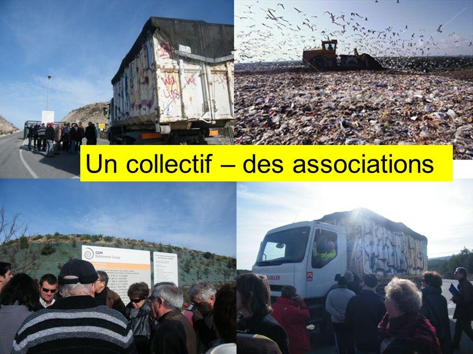 Un collectif - Des Associations Réunion d'information du 26 février 2011 Un collectif – des associations