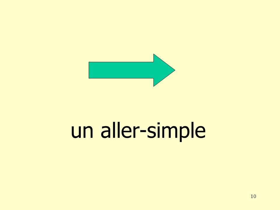 10 un aller-simple