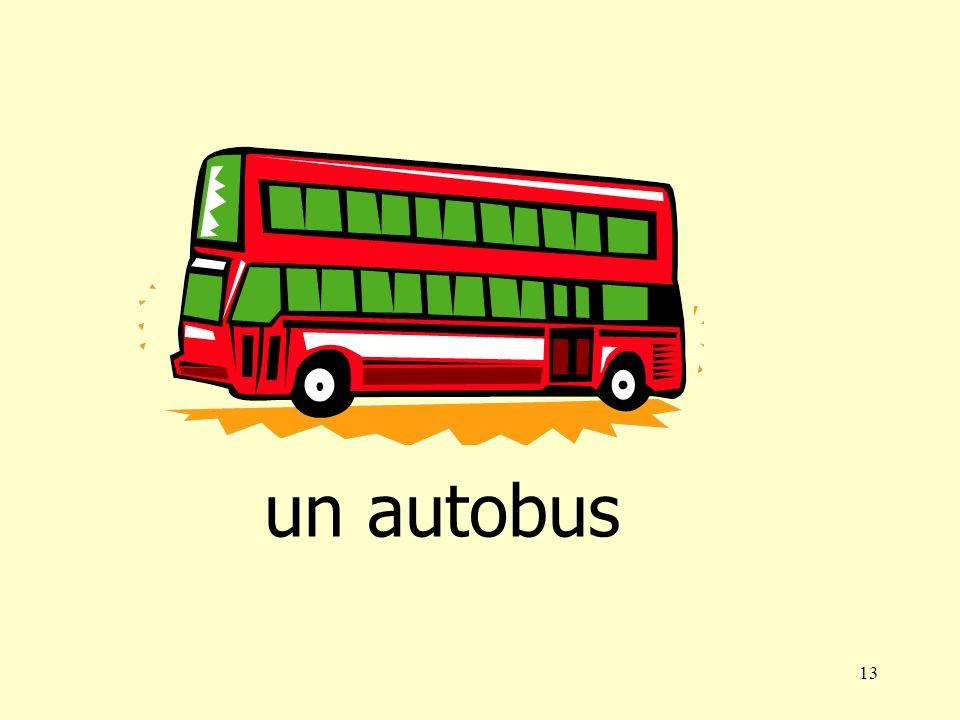 13 un autobus