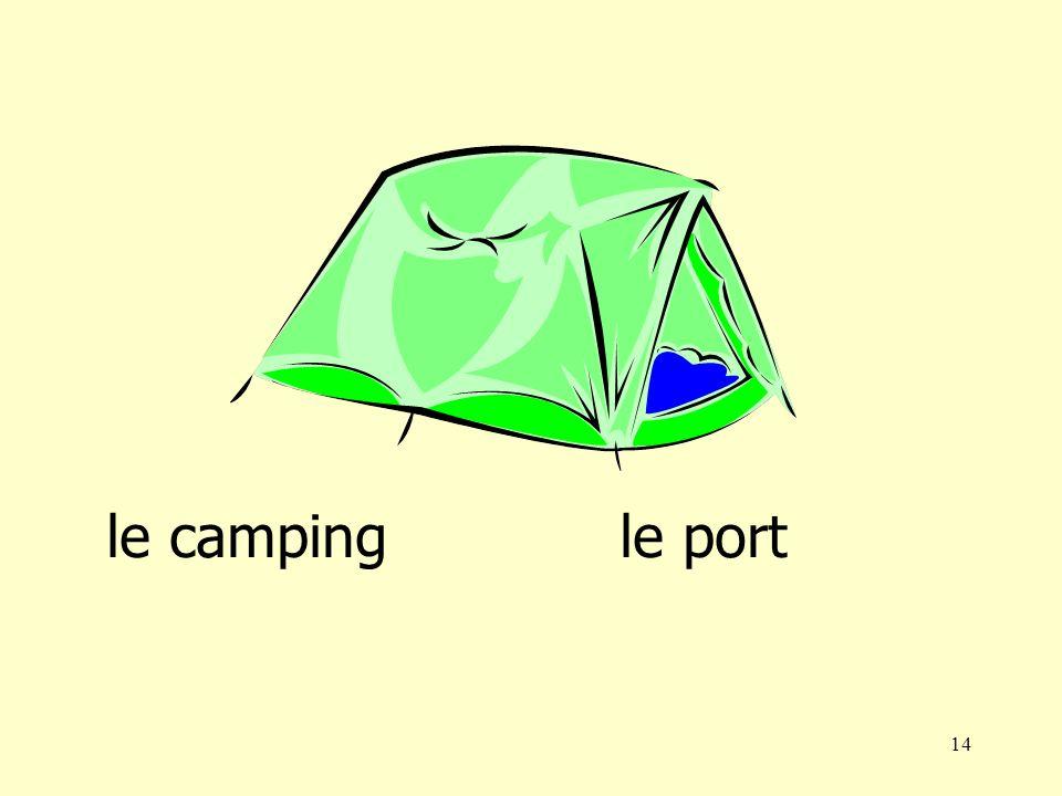 14 le campingle port