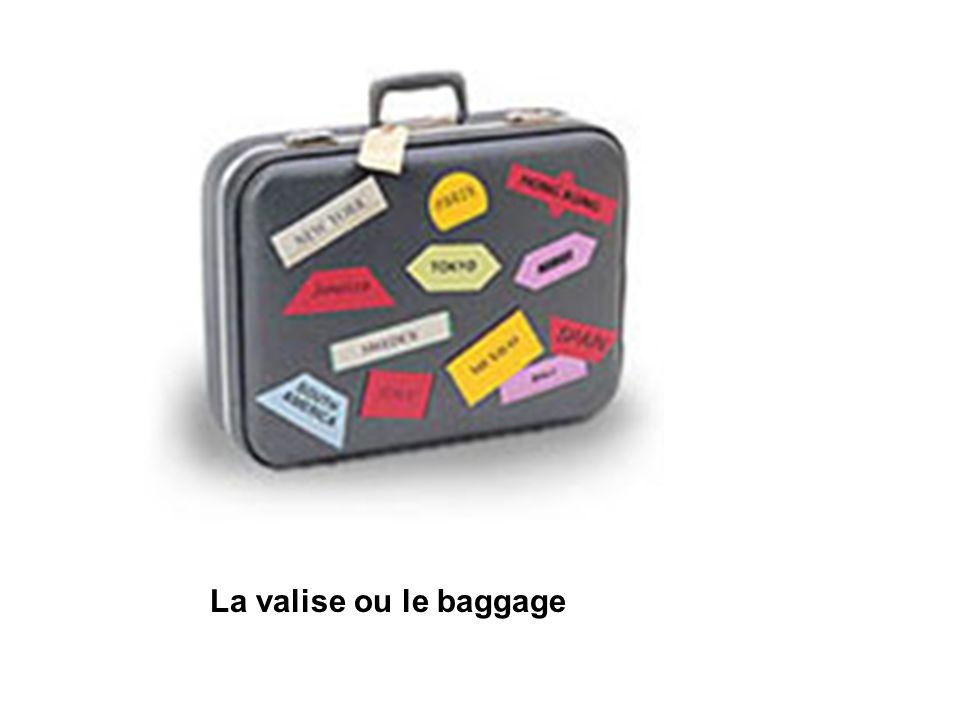 La valise ou le baggage