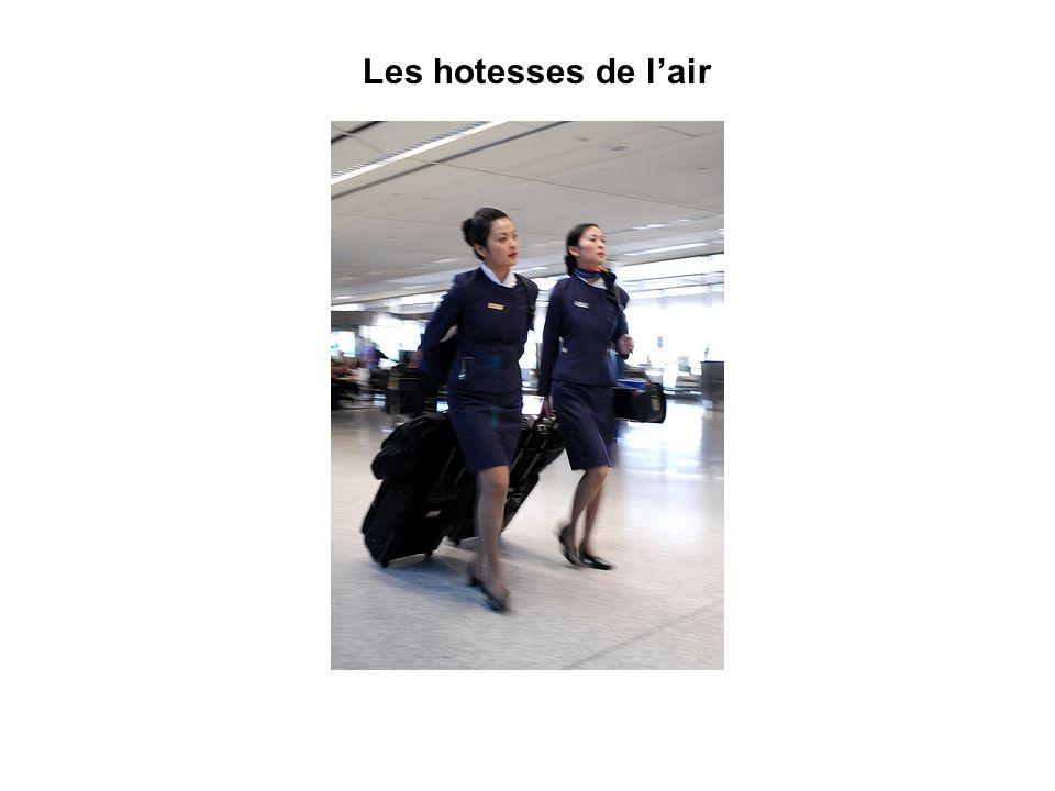 Les hotesses de lair