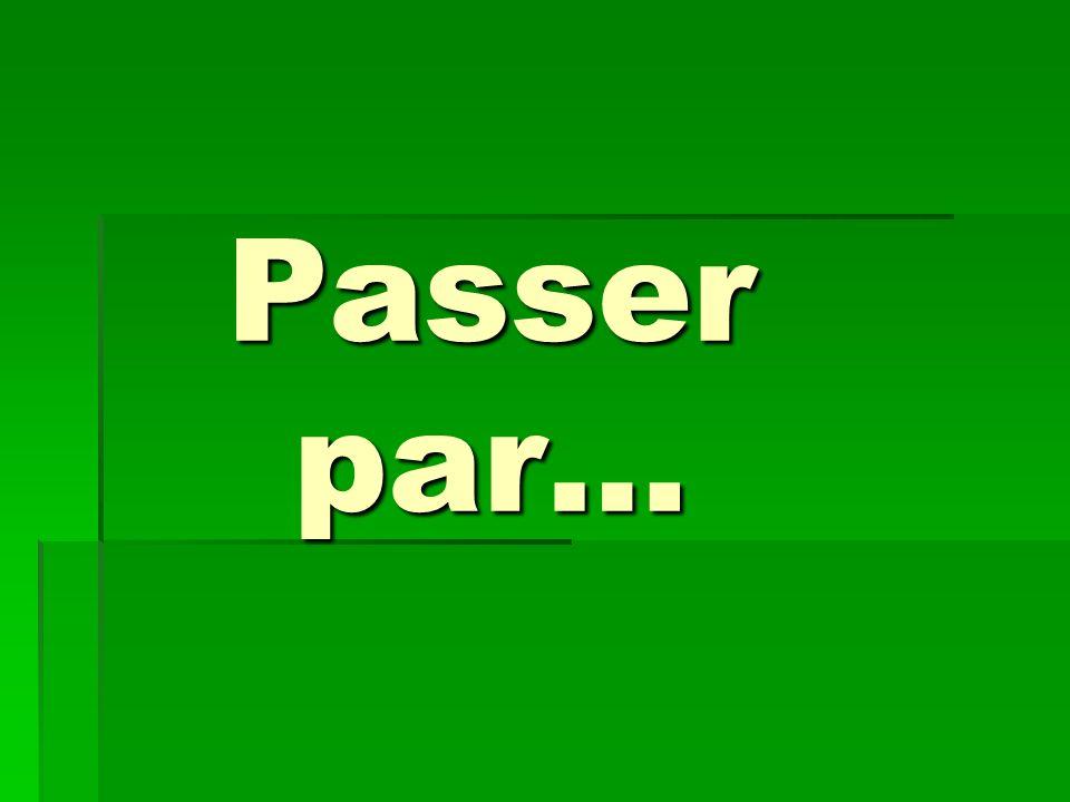 Passer par…