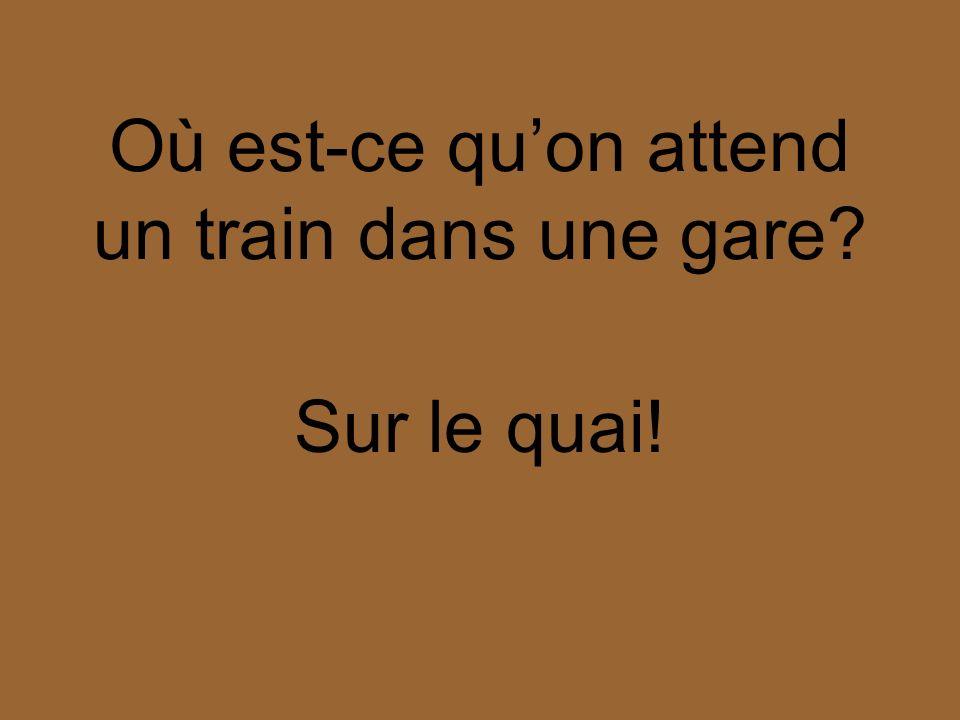 Au contraire! Why?