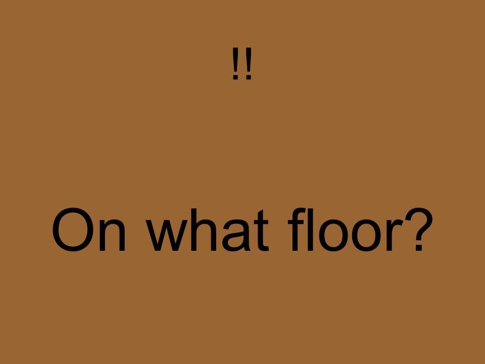 A quel étage