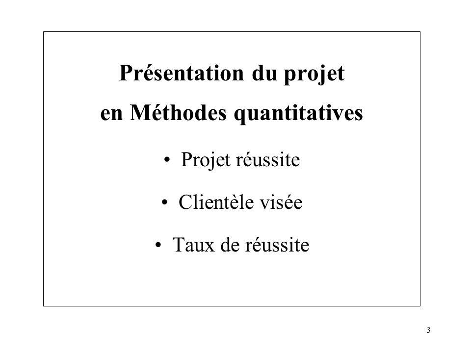 4 Objectifs du projet en MQ Permettre aux élèves ayant des difficultés datteindre les objectifs du cours de MQ.