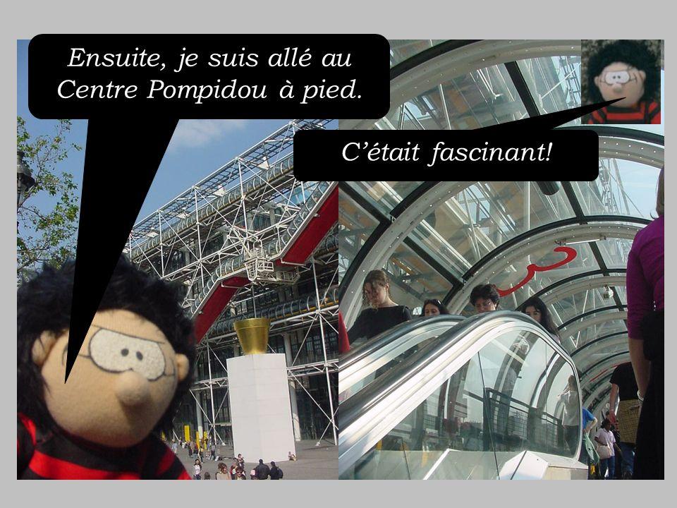 Ensuite, jai repris le BATOBUS pour aller…….. …..à la cathédrale de Notre Dame