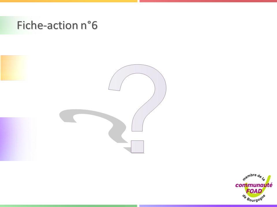 Fiche-action n°6