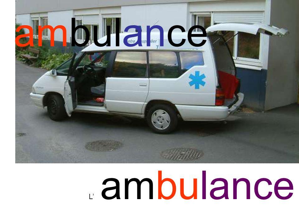 ambulance L ambulance