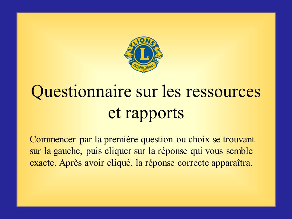 Ressources organisationnelles LCI Constitution et Statuts de district (LA-4)Constitution et Statuts de district Constitution et Statuts internationaux