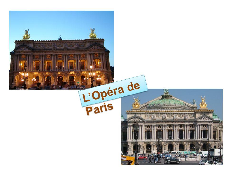 LOpéra de Paris