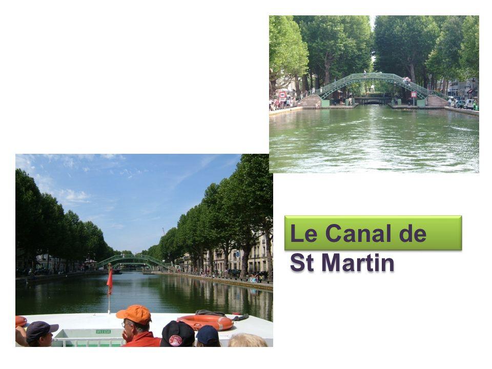 Le Canal de St Martin
