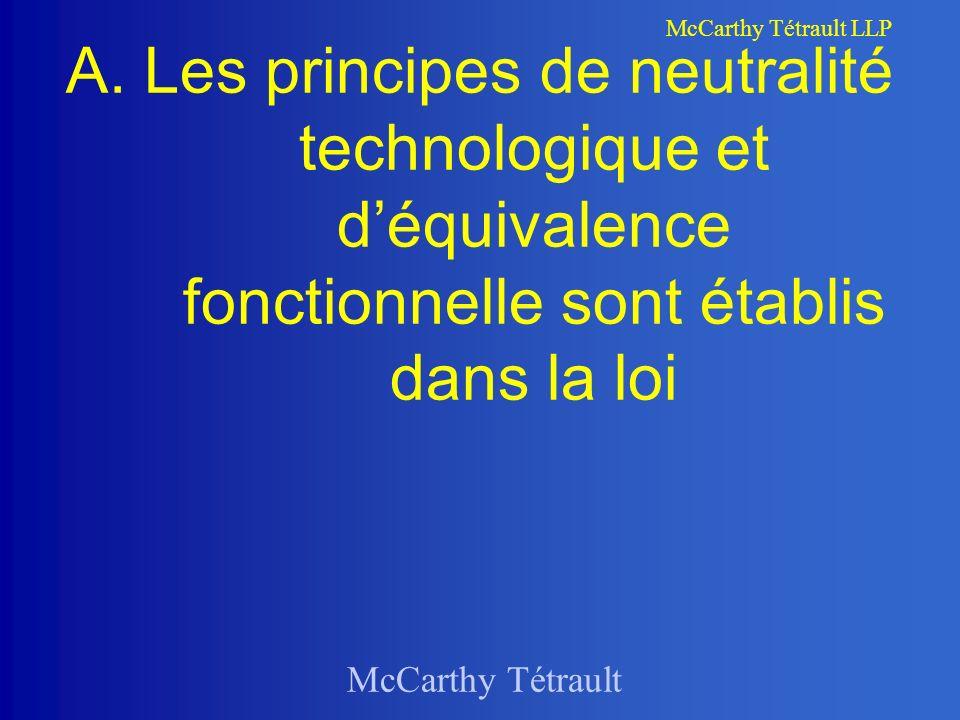 McCarthy Tétrault McCarthy Tétrault LLP A.