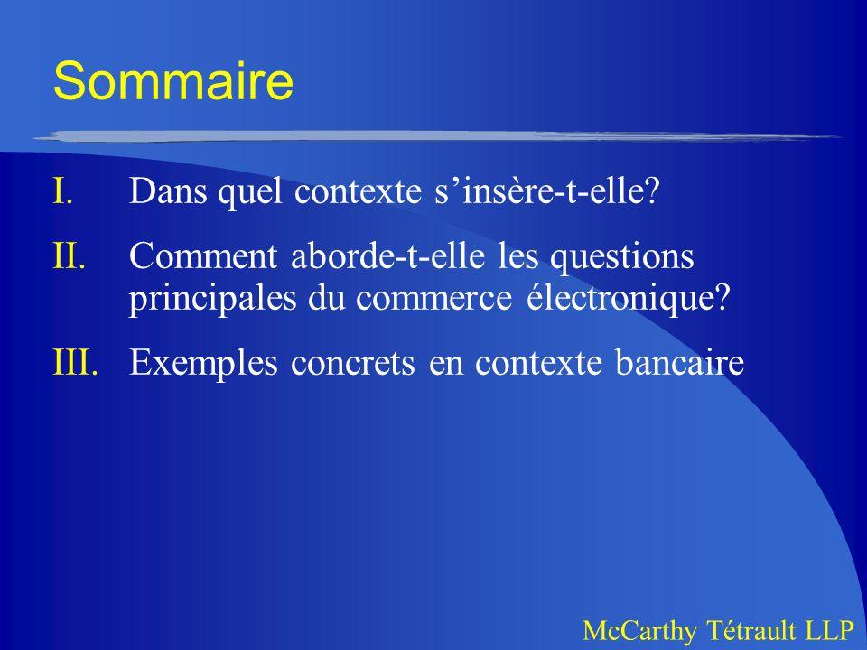 McCarthy Tétrault LLP A.