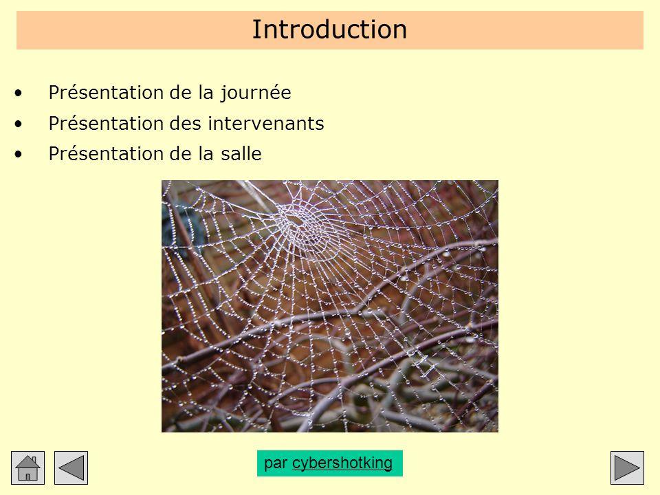 Introduction Présentation de la journée Présentation des intervenants Présentation de la salle par cybershotkingcybershotking