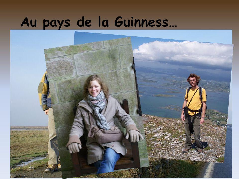 Au pays de la Guinness…