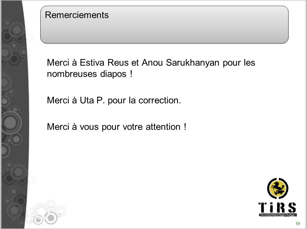 Merci à Estiva Reus et Anou Sarukhanyan pour les nombreuses diapos ! Merci à Uta P. pour la correction. Merci à vous pour votre attention ! Remercieme
