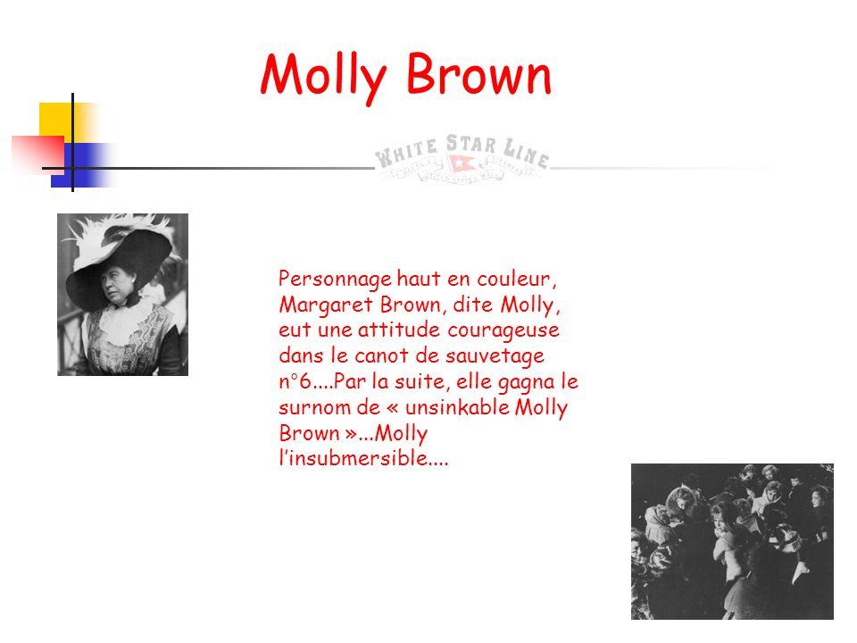 Madeleine, son épouse Madeleine Astor voyageait en compagnie de son époux. A lépoque des faits, âgée de 17 ans et enceinte de son premier enfant elle