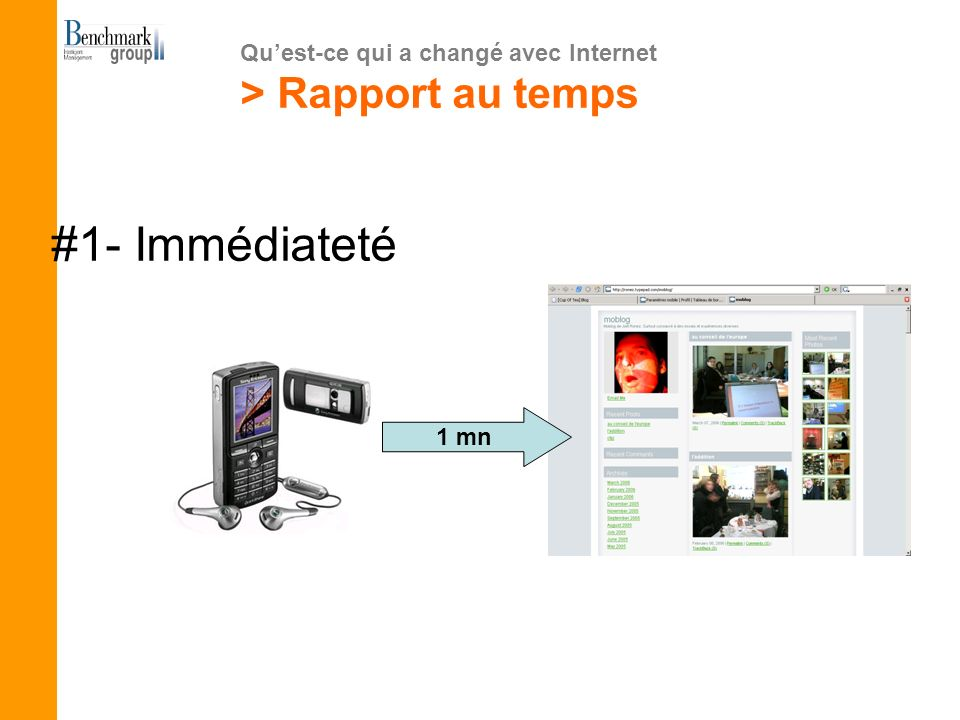 Quest-ce qui a changé avec Internet > Rapport au temps #2- Flux VS périodique