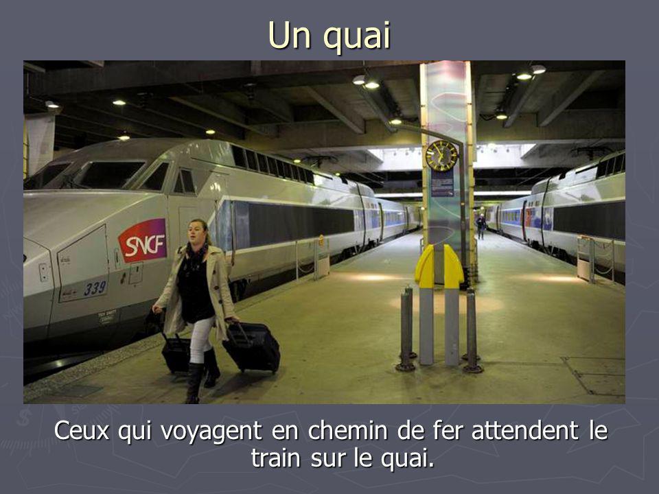 Le TGV-Train à Grande Vitesse Ce train est le plus rapide de tous les trains