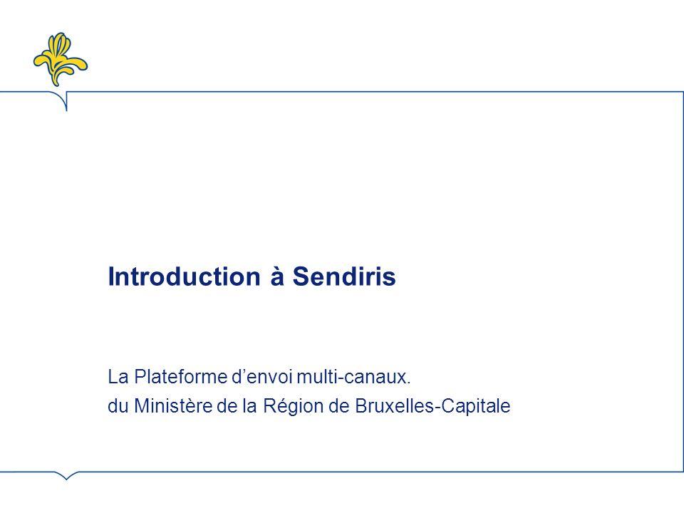 Introduction à Sendiris Les E-cards