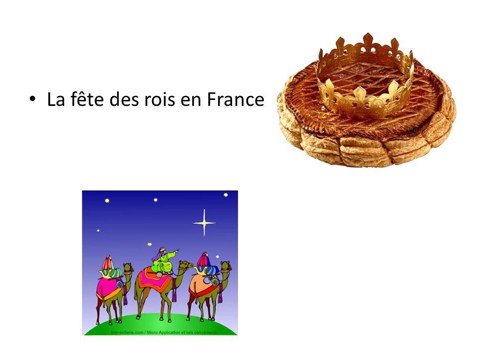 La fête des rois en France