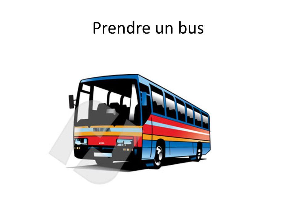 Prendre un bus