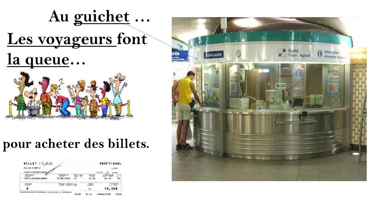 On peut acheter deux types de billets. Paris Lyon Paris Lyon Paris
