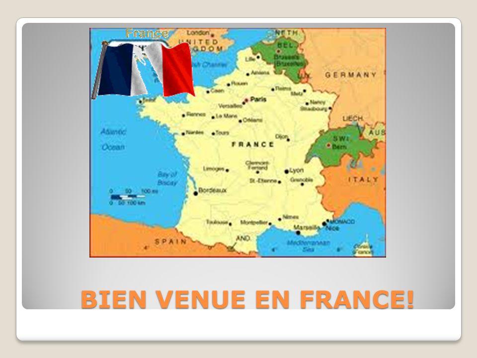 BIEN VENUE EN FRANCE! BIEN VENUE EN FRANCE!
