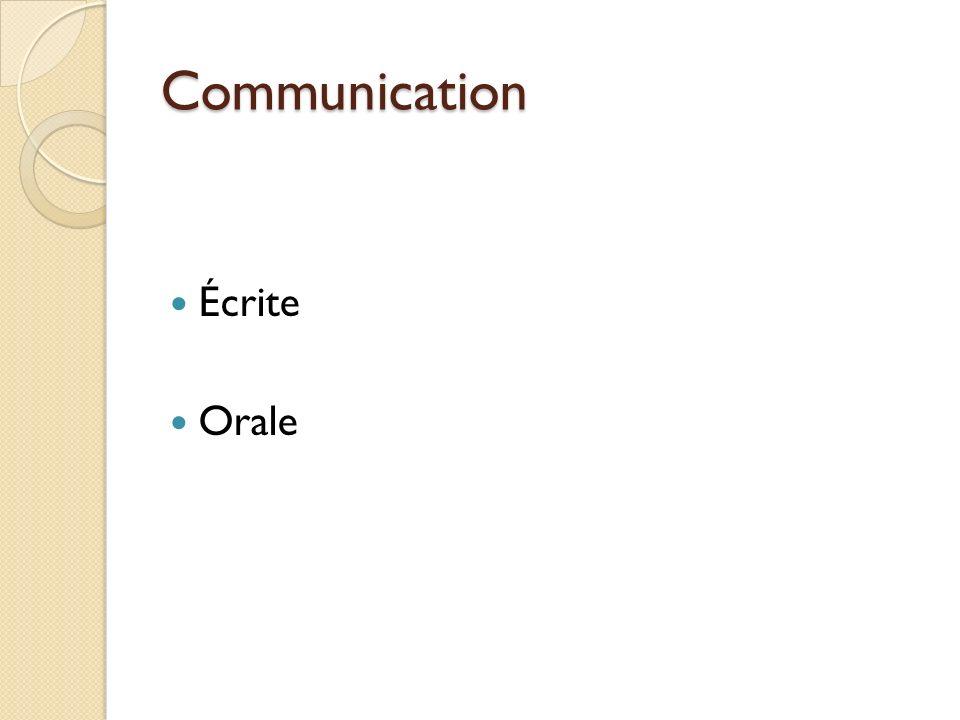 Objectifs Communication écrite - Mettre en pratique une méthode de préparation et de rédaction des textes techniques - Appliquer cette méthode à quelques types de textes courants en ingénierie (compte rendu, note technique, rapport, etc.