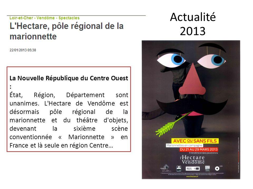 La Nouvelle République du Centre Ouest : État, Région, Département sont unanimes.