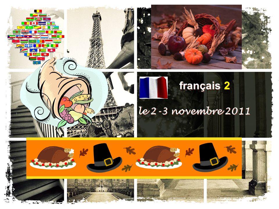 français 6AP le 2 novembre 2011 ActivitéClasseur CHANTONS .