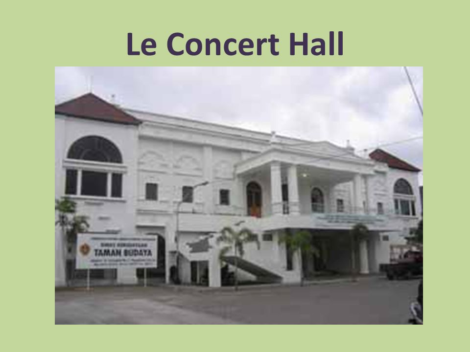 Le Concert Hall