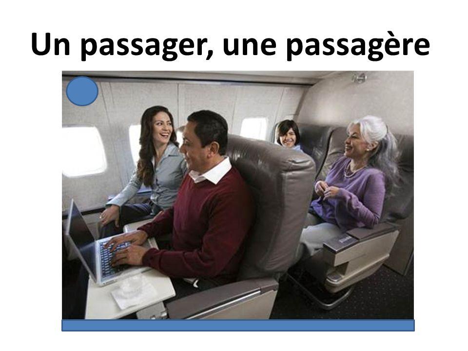 Un passager, une passagère