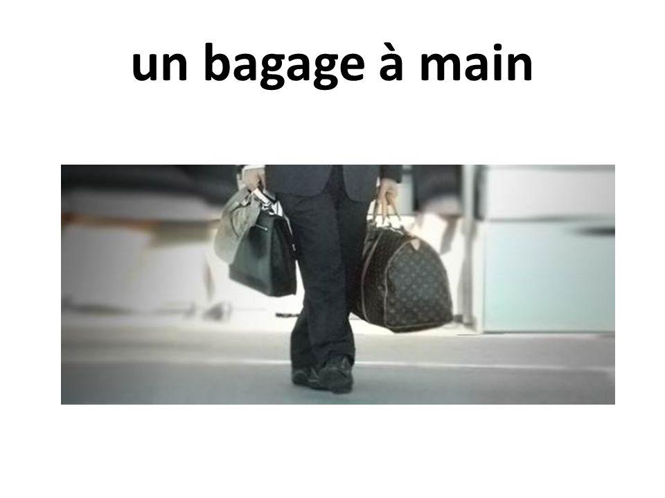 un bagage à main