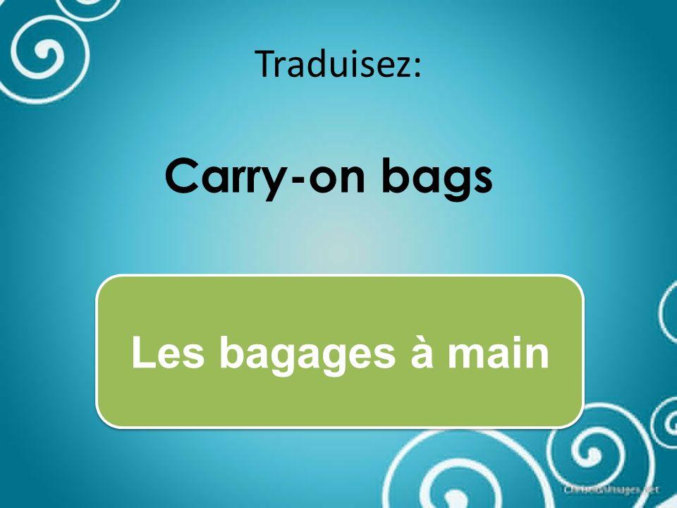 Traduisez: The plane will take off at 3:00pm. Lavion décollera à 15:00h.