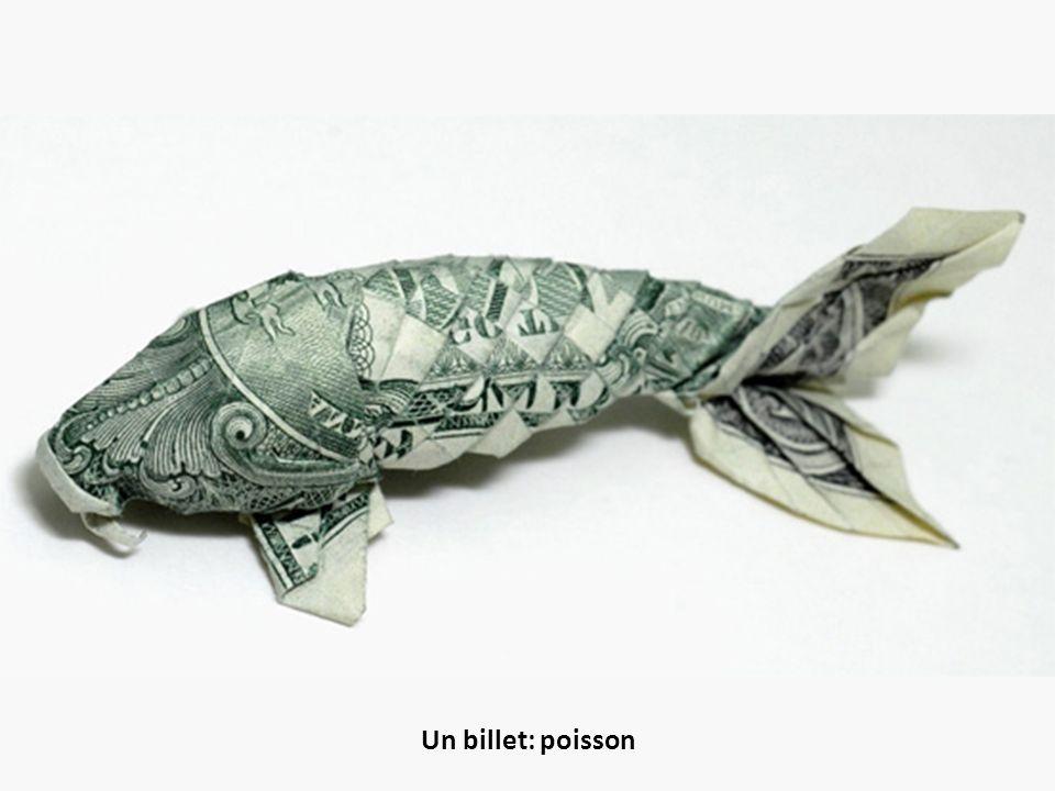 Un billet: poisson