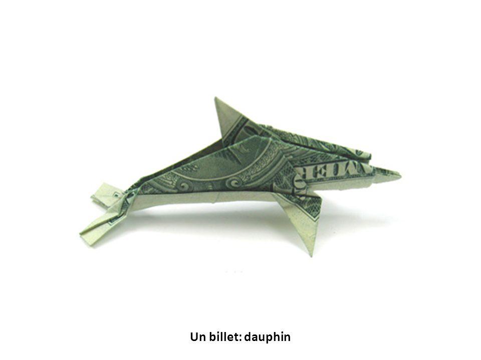 Un billet: dauphin