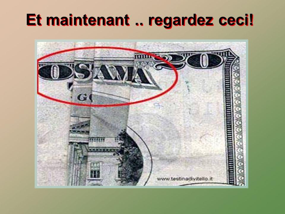 Si on prend un billet de 5, 20 et 100$, selon le même pliage on obtient: AVANTPENDANTAPRES SURPRENANT NON??? Et ???