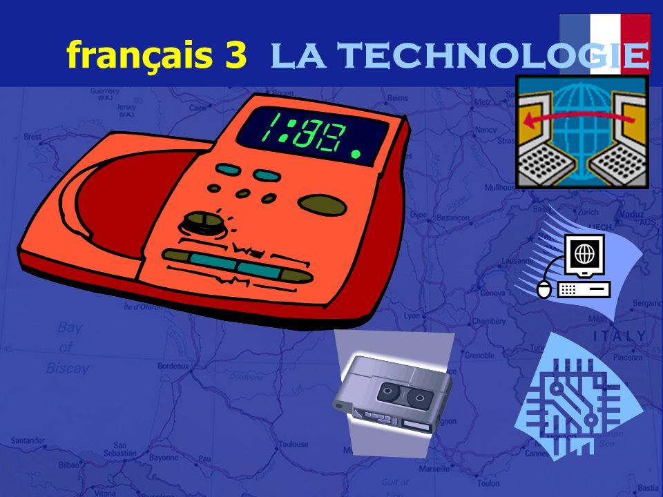 français 3 la technologie