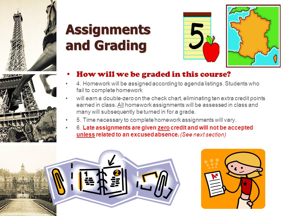 Assignments and Grading How will we be graded in this course.