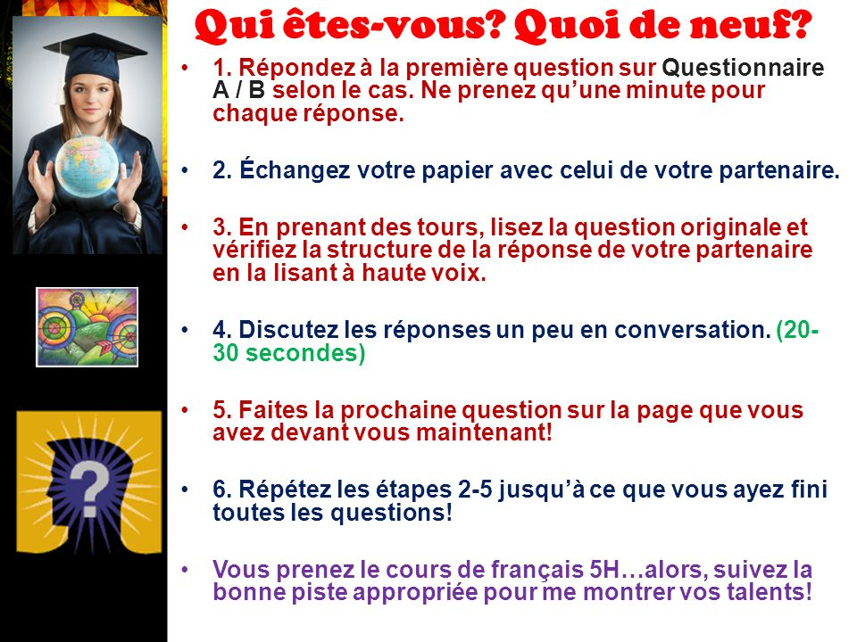 français 1 le 30 août 2012 ActivitéCahier ALL MATERIALS FOR THIS COURSE DUE IN CLASS by TUESDAY, SEPTEMBER 4, 2012.