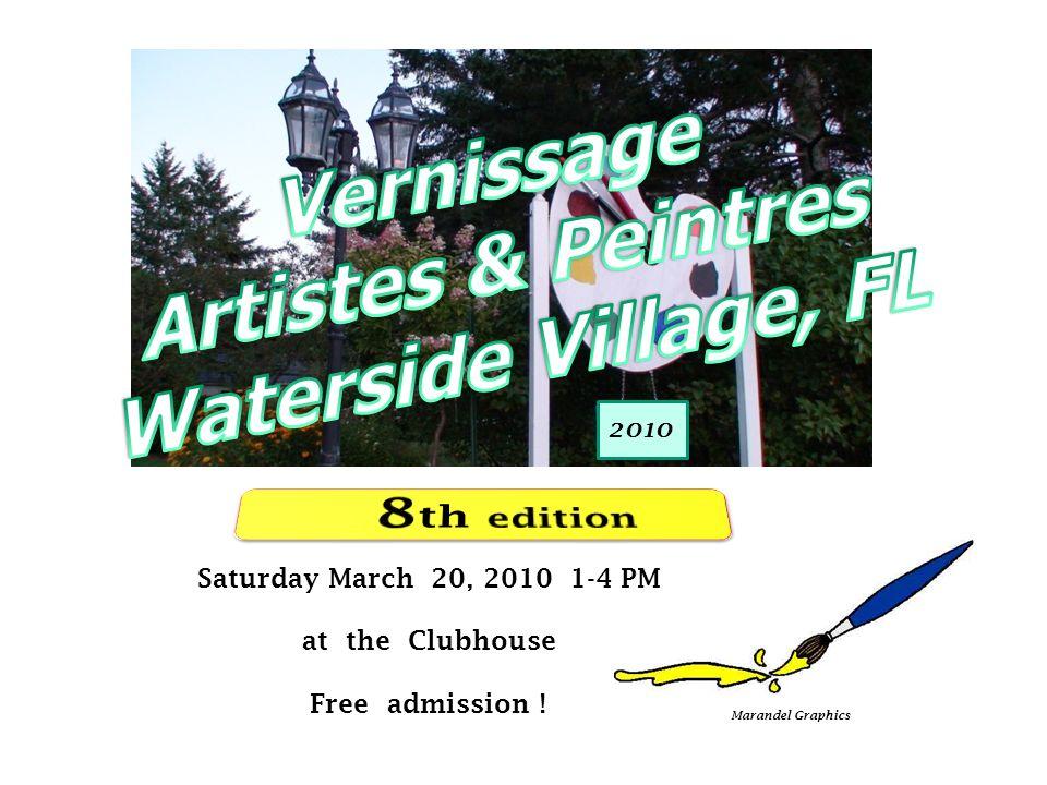 11 of 46 Samedi 20 mars, 2010 1-4 PM au Chalet Admission gratuite ! Marandel Graphisme 2010
