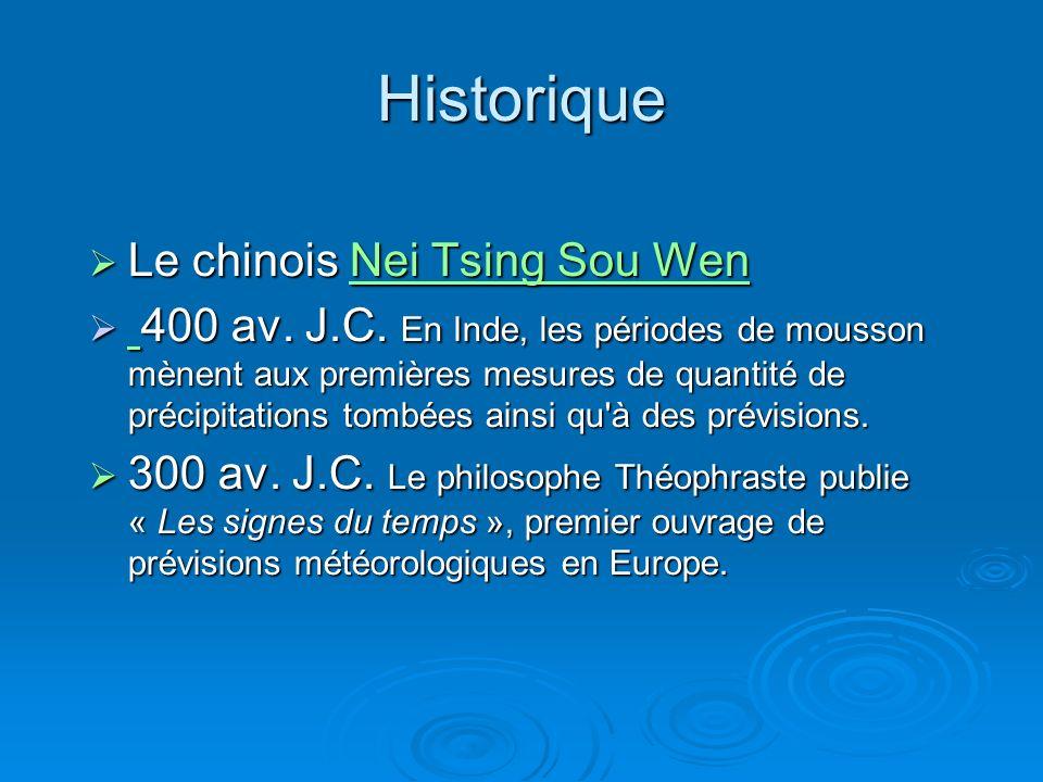 Historique Le chinois Nei Tsing Sou Wen Le chinois Nei Tsing Sou WenNei Tsing Sou WenNei Tsing Sou Wen 400 av.