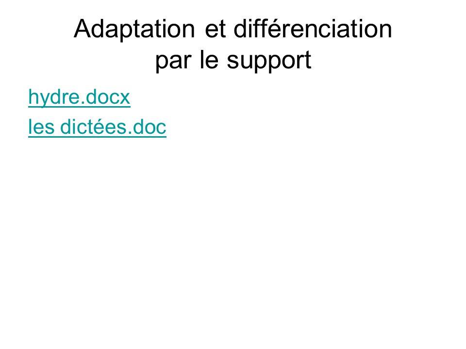 Adaptation et différenciation par le support hydre.docx les dictées.doc