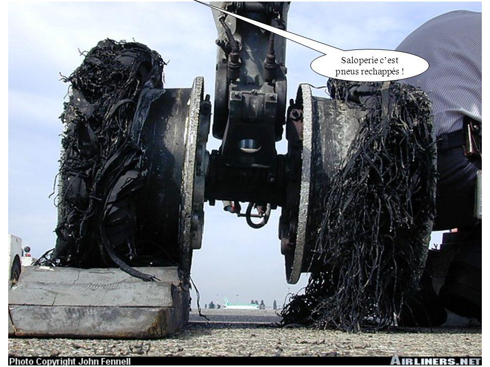 Saloperie cest pneus rechappés !
