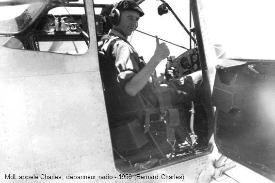 MdL appelé Charles, dépanneur radio - 1959 (Bernard Charles)